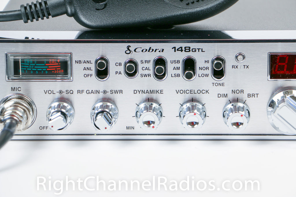 Cobra 148 GTL CB Radio | Right Channel Radios
