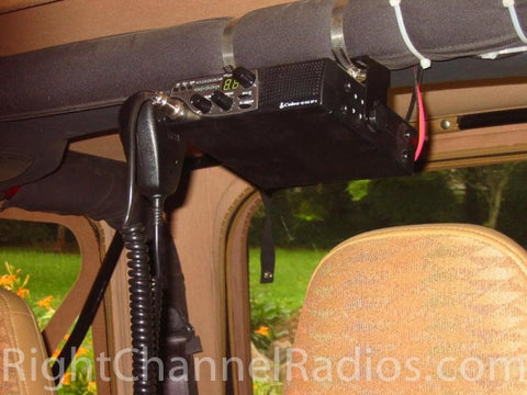 Cobra 18 Installed on Jeep Roll Bar