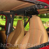 Cobra 18 WX ST Installed on Jeep Roll Bar