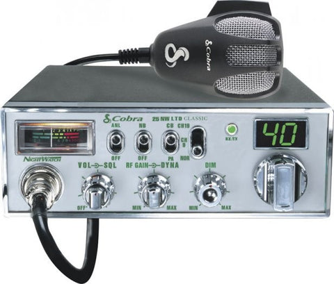Cobra 25 NW LTD CB Radio Front View