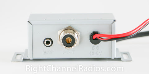 Cobra 75 WX ST Control Box - Rear