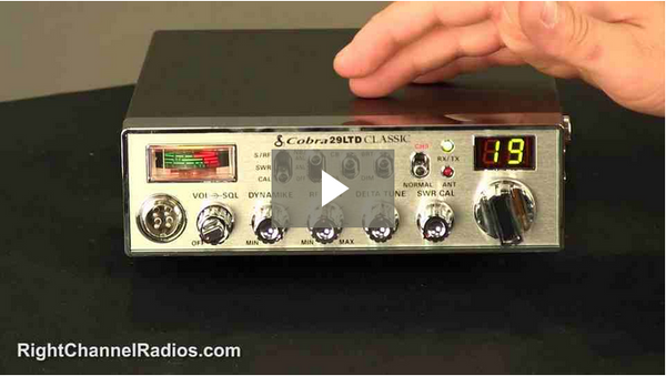 Ford Truck CB Radio Kit - Video