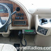 Cobra 29 LX installed below dash