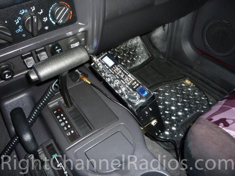 Cobra 29 BT Installed on Center Console