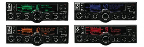 Cobra 29 LX Chrome CB Radio Colors