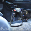 Cobra WX NW BT Installed Under Dash Side View