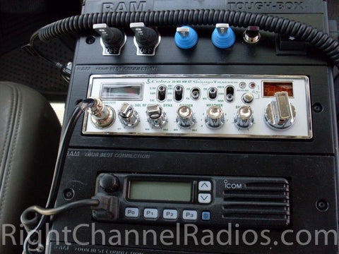 Cobra 29 Installed in Custom Console