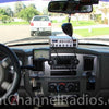 Cobra 29 Installed on top of truck dash