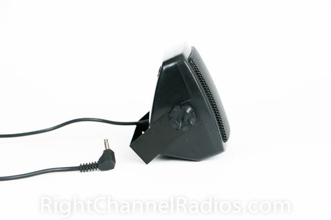 Compact External CB Radio Speaker Side View