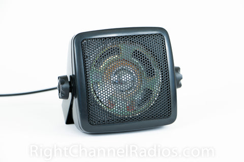 Compact External CB Radio Speaker with Mount