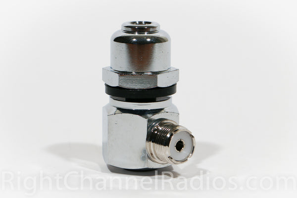 Heavy Duty Cb Antenna Stud With Right Angle Right