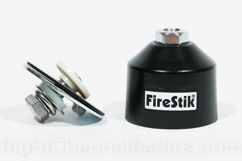 Firestik Dome Mount with Lug Connection - Side View