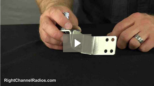 Door Jamb CB Antenna Mount Kit - Video
