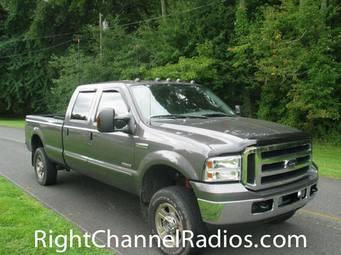 Firestik Dual CB Antenna kit installed on Ford Truck