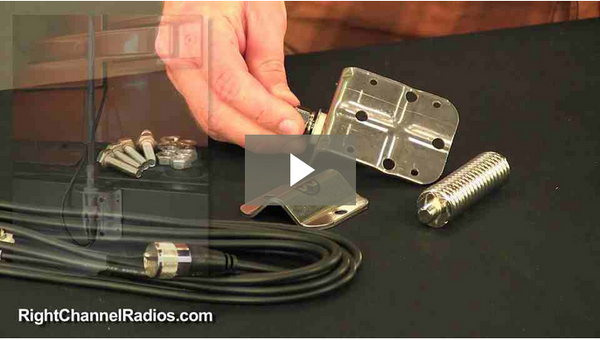 Firestik Dual CB Antenna Kit - Video