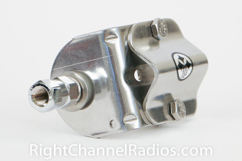 Stainless Steel 3-Way Mount Vertical Position