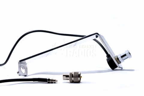 2015 and newer Ford F150 CB Antenna Mount  and coax cable parts