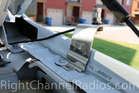 Ford F15 CB Radio Fender Mount