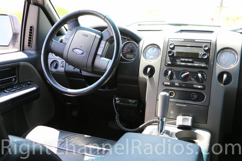 Uniden Pro 510 XL CB Radio Installed in Ford F150