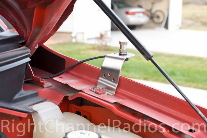 Ford F150 Cb Antenna Hood Mount