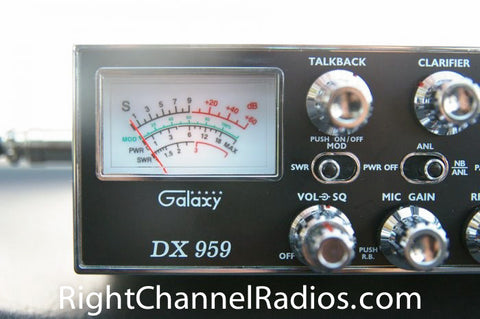 Galaxy DX 959 CB Radio Meter