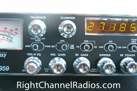 Galaxy DX 959 CB Radio Controls