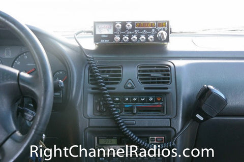 Galaxy DX 959 CB Radio Installed
