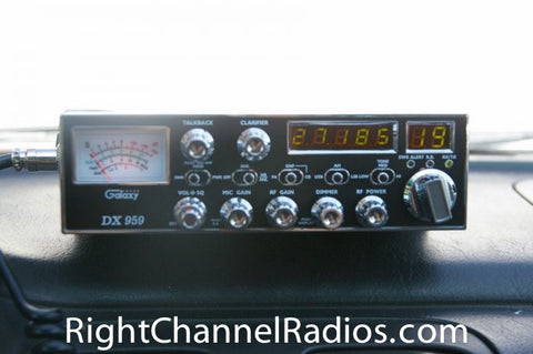 Galaxy DX 959 CB Radio Front