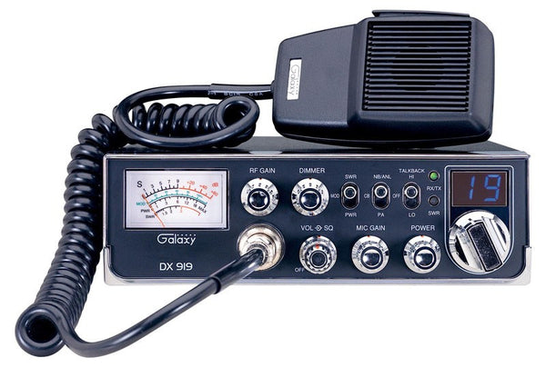 Galaxy DX 919 CB Radio Front View