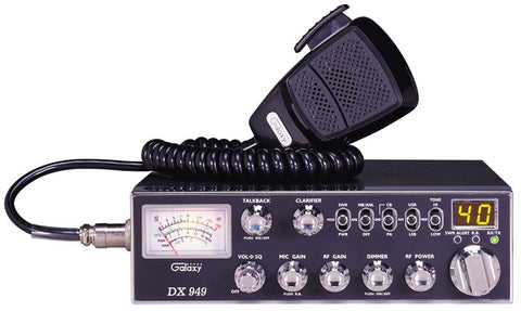 Galaxy DX 949 CB Radio Front View