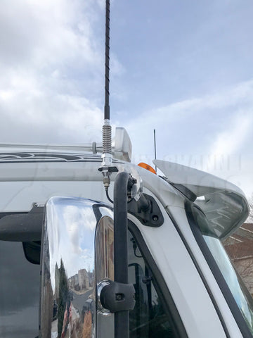 Heavy-Duty CB Antenna Mirror Mount