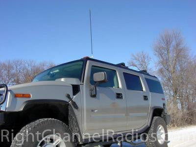 Hummer with CB Antenna