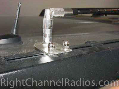 Hummer CB Antenna Mount With Antenna and Fold-Down Adapter