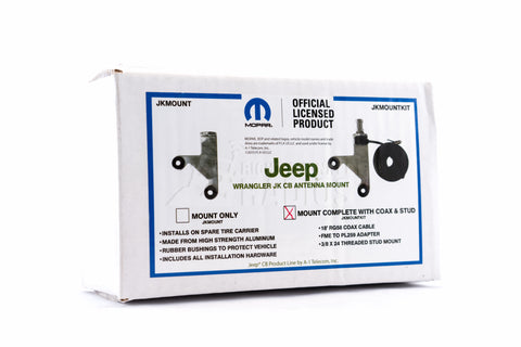 JK Jeep CB Antenna Mount Packaging