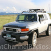 Bandi Mount Installed on FJ Cruiser