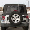 CB Antenna Installed on JK Jeep
