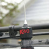 K40 Trunk Lip CB Antenna Installed as Roof Mount