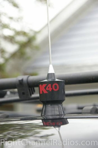 K40 CB Antenna Mounted Without Magnet