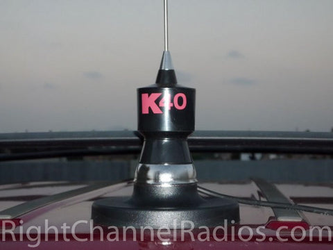 K40 Magnet CB Antenna Mount Installed