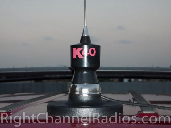 K40 Magnet Mount CB Antenna | Right Channel Radios