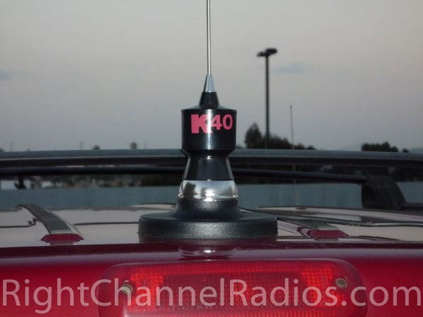 2016 Jeep Truck >> K40 Magnet Mount CB Antenna | Right Channel Radios