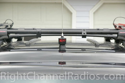 K40 Roof Mount CB Antenna Installed
