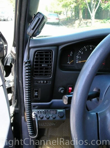 Uniden 510 CB Radio Installed