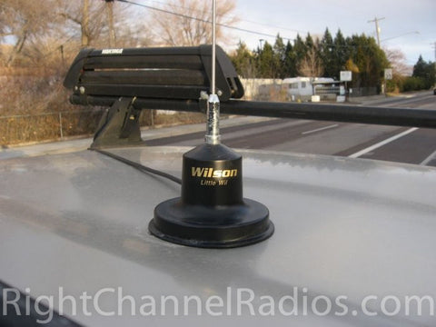 Wilson Little Wil CB Antenna - Installed