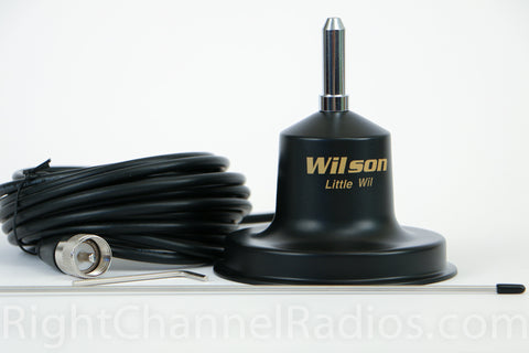 Wilson Little Wil CB Antenna with Coax