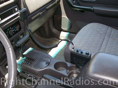 Uniden 510 Installed in Car Cab