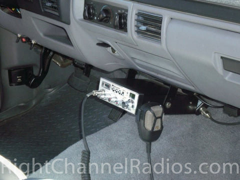 Midland 5001Z Mounted Under Dash