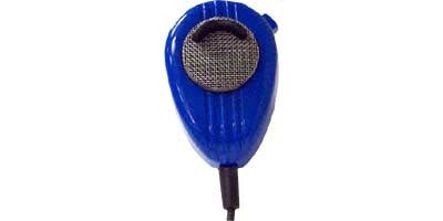 Noise-Canceling CB Microphone (Blue)