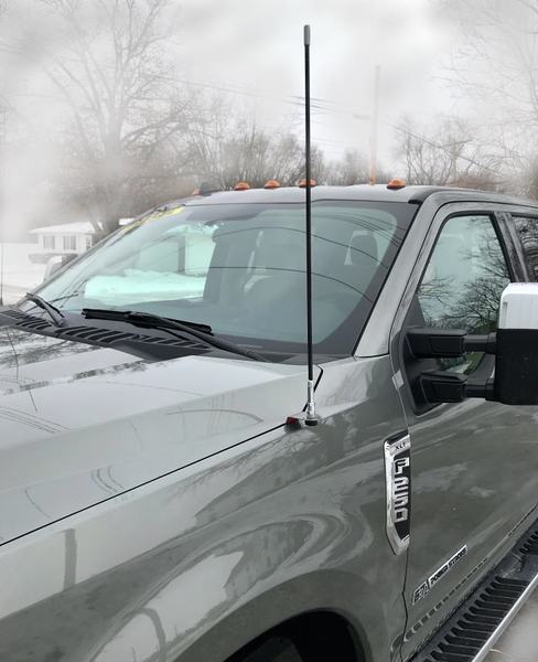 2017+ Ford F250, F350, F450 & F550 CB Antenna Kit