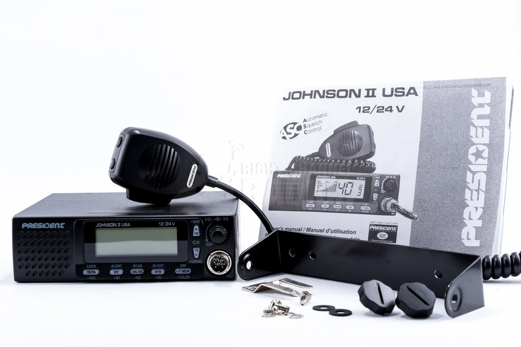 President Johnny III CB Radio | Right Channel Radios
